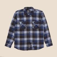 Kemeja Flanel Lengan Panjang Monochrome LS Great Doos Shirt