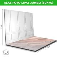 Alas Foto Lipat Jumbo Dinding & Marmer Pink / Background Foto (BJ-16)