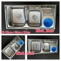 Bak Cuci Piring Set Kitchen Sink Westafel Sink wastafel cuci piring 92
