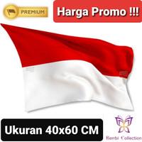Bendera Merah Putih Ukuran 40x60 CM (Untuk Pawai Dekorasi dan Mobil )