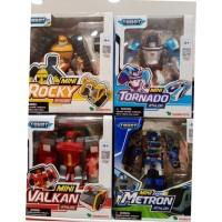 Sale mainan : tobot athlon mini Rocky/Tornado/Valkan/Metron