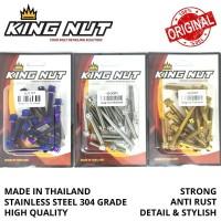 Set Baut CVT Beat Scoopy Vario Fi Probolt Stainless King Nut Thailand