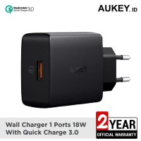 AUKEY PA-T17 TURBO CHARGER 1 PORT 18W USB C QC 3.0 (NON CABLE)