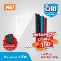 WD My Passport 5TB - HD HDD Hardisk Eksternal 2.5
