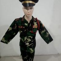 seragam tni anak - 2-3 tahun