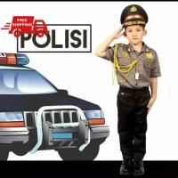 BAJU POLISI KANTOR/SERAGAM POLISI - 2-3 tahun