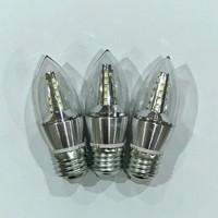 Lampu Candle LED 5W fitting E27 5 w 5watt bohlam lilin gantung 5 WATT