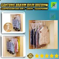 Kantong Vakum Baju Vacuum Compression Bag Size L