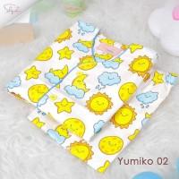 Shofwah - PIYAMA YUMIKO 02 YELLOW - piyama anak baju tidur anak