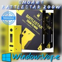 SMOANT BATTLESTAR 200W TC MOD AUTHENTIC 100% - windows vape