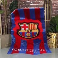 Handuk Mandi Motif Club Bola Keren Termurah Terlaris - BARCELONA
