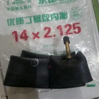 ban dalam sepeda listrik selis uk 14x2.125 pentil benkok (L)