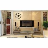Medium Size Jam Dinding Angka Akrilik 3D 40-70 cm