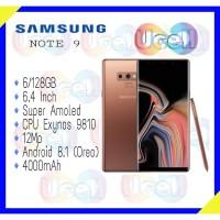 Samsung Galaxy Note 9 - 6GB/128GB - Garansi Resmi 1 Tahun