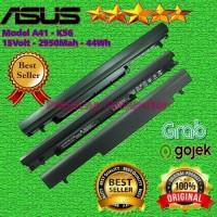 Original Baterai Laptop Asus A46C - A56 - K46 - K56 - S40 -S405 Series