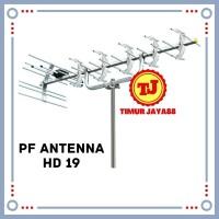ANTENA OUTDOOR ANTENA TV LUAR MODEL YAGI HD-U19 HD U 19 ANTENNA HD U19
