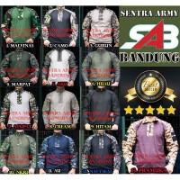 kaos tactical bdu / baju tactical / bdu lengan panjang combat loreng