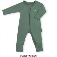 Little Palmerhaus Baby Sleepsuit Baju Tidur Bayi Forest Green