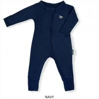 Little Palmerhaus Baby Sleepsuit Baju Tidur Bayi Navy