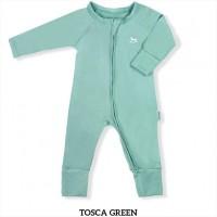 Little Palmerhaus Baby Sleepsuit Baju Tidur Bayi Tosca Green