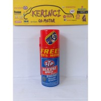 Silicone Spray STP 300ml - Cairan Pelembab Karet Van Belt STP