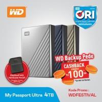 WD My Passport Ultra 4TB - HDD/ Hardisk / Harddisk External USB-C 3.0