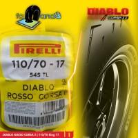 BAN PIRELLI DIABLO ROSSO CORSA 2 110/70 RING 17
