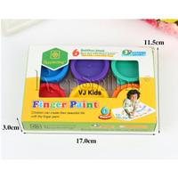 finger paint cat untuk melukis anak, utk art n craft aman digunakan