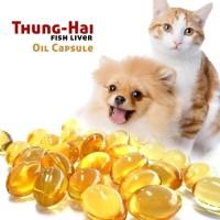 Minyak Ikan Tunghai Vitamin Bulu Anjing/Kucing/Kelinci/Musang/Hamster