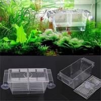 Aquarium Fish Tank Guppy Double Breeding Breeder Rearing Trap Box