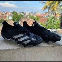 Sepatu Bola Adidas Predator Mutator 20.1 Black FG