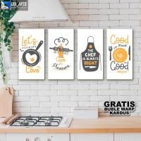 Hiasan Dinding Dapur Kitchen / bakery / cooking / Hiasan Ruang Makan