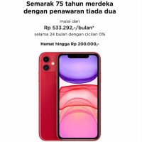 BNIB iPhone 11 64GB Grs Resmi Apple Indonesia 64 iBox new