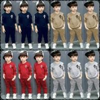set training anak 3-6 th/kaos olahraga/baju senam/baju olahraga