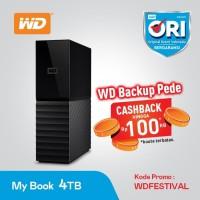 WD MYBOOK - WDC MY BOOK DESKTOP 3.5 Inch 4TB - HDD External Desktop