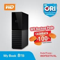 WD MYBOOK - WDC MY BOOK DESKTOP 3.5 Inch 8TB - HDD External Desktop