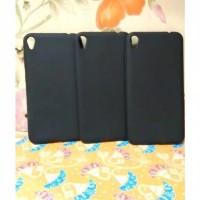 sofcase ASUZ ZENFONE live ZB501KL A007 silicon black matte slim case