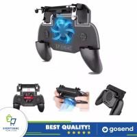 Gamepad Handle Trigger PUBG FF l1r1 + Kipas + Power Bank + Gamepad