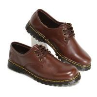 Sepatu Boots Wanita Low Boot 3 Hole Kulit Asli Like Docmart 7010 CKLT