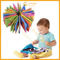 LAKOE - CLOTH BOOK / buku bantal bayi / buku cerita bayi / pillow book