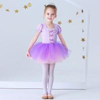 Baju Balet Kostum Balet Gaun Rapunzel Ballet Costum Dress Princess - 1