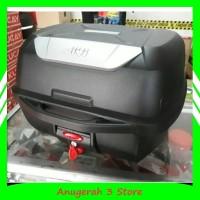Box Motor Givi E43 NTL - Box Touring Muat 2 Helm Half Face