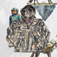 Anorak Jacket The Worth Price Forest Camo dengan Kearifan Lokal