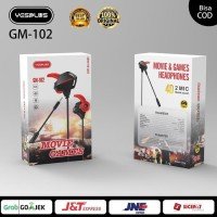 HF gaming 4d double mic Double horn with vibration yesplus ori GM-102
