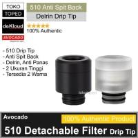 510 Detachable Anti Spit Back Drip Tip   driptip berserker gear exceed