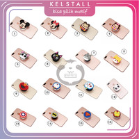 Griptok Pop Socket 3D Karakter Lucu/Phone Holder/Phone Stand part 3