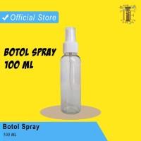 Botol Plastik Spray Bening Isi Ulang Hand Sanitizer / Botol Transparan