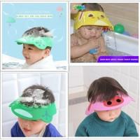 Topi Mandi Buat Keramas Anak Bayi / Topi Mandi Anak / Baby Shower Cap