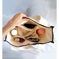 Ara Bag / Tas Kanvas / Tote bag / Tas belanja banyak sekat /Diaper bag