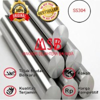 STAINLESS AS 30 MM SUS 304 - AS MONEL - ROUND BAR - AS SHAFT